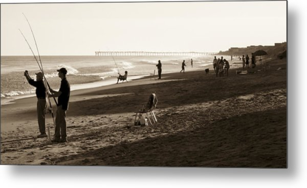 Afternoon At The Shore Metal Print