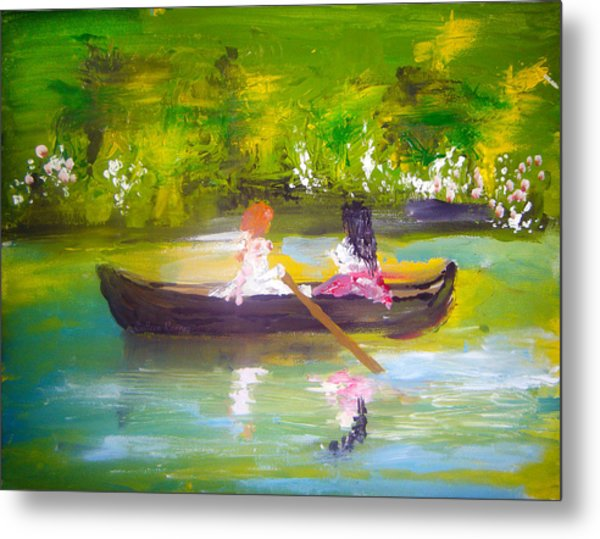 Afternoon By Colleen Ranney Metal Print