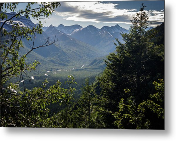 Afternoon, Going To The Sun Road Metal Print