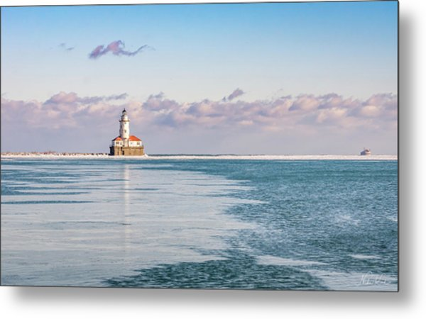 Afternoon In The Harbour Metal Print