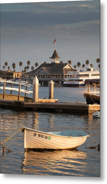 Afternoon Light Balboa Island Metal Print