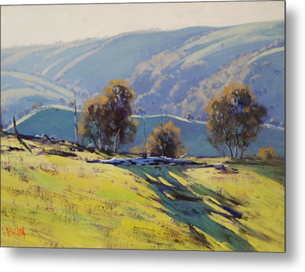 Afternoon Light Lithgow Metal Print