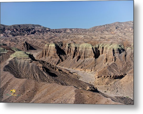 Metal Print featuring the photograph Afton Canyon by Jim Thompson