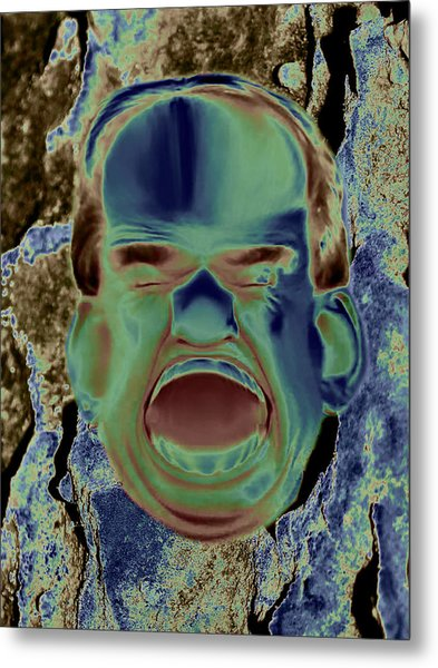 Agony And Misery Metal Print