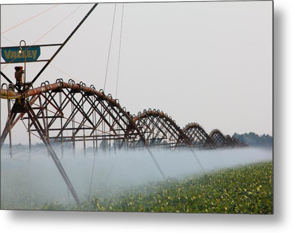 Agriculture - Irrigation 3 Metal Print