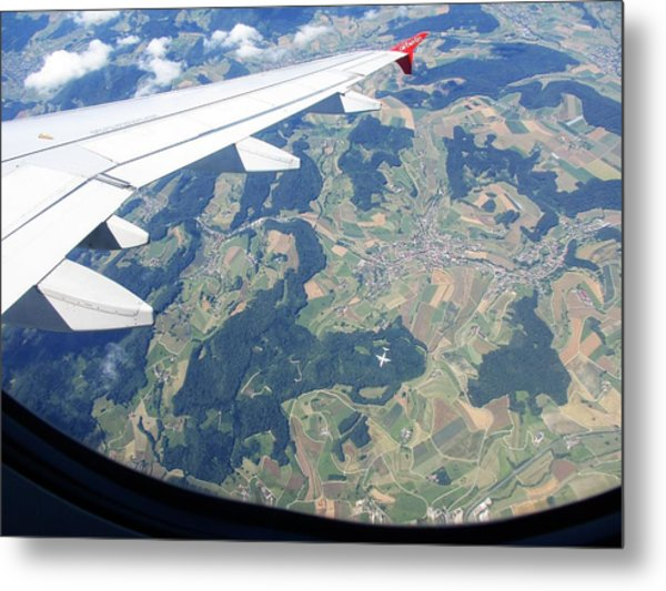 Photograph - Air Berlin Over Switzerland by Travel Pics