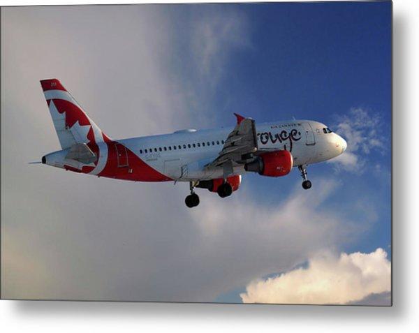 Air Canada Rouge Airbus A319-114 Metal Print