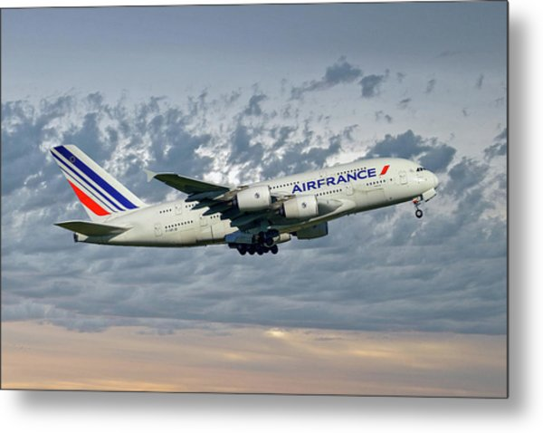 Air France Airbus A380-861 113 Metal Print