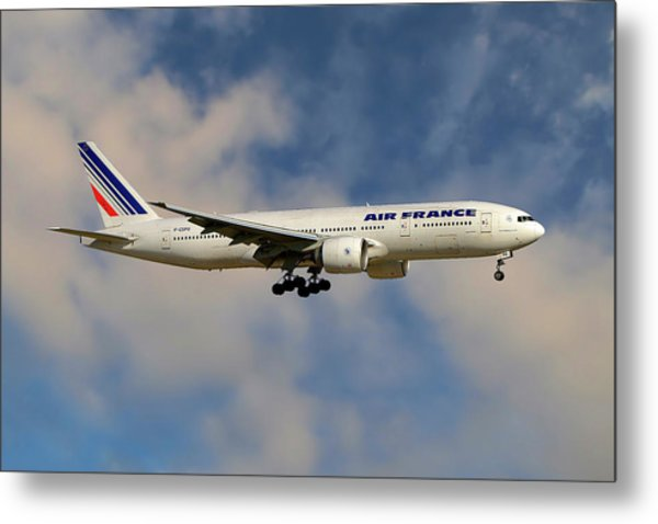 Air France Boeing 777-228 Metal Print