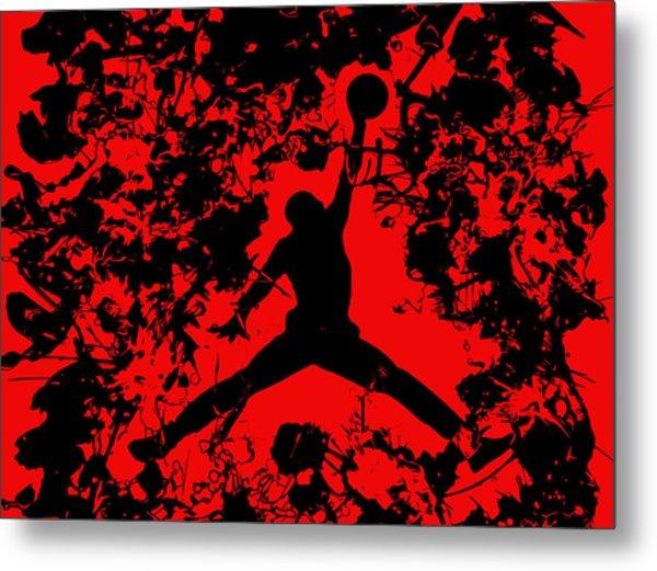 Air Jordan 1b Metal Print