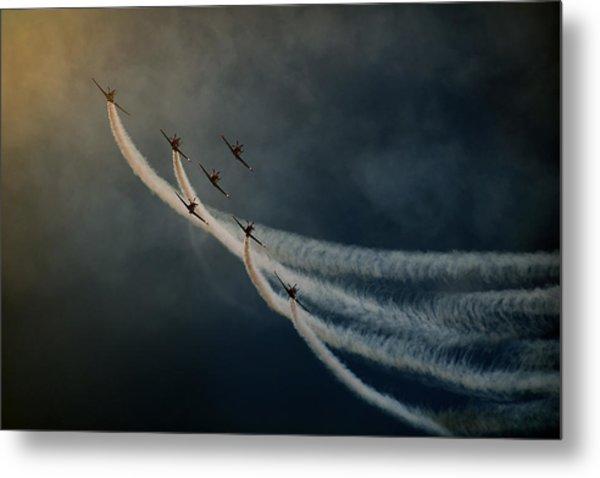Air Show. Metal Print by Antonio Grambone