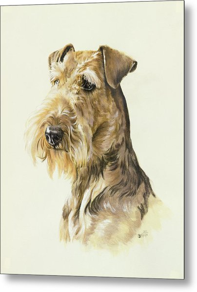 Airedale Metal Print