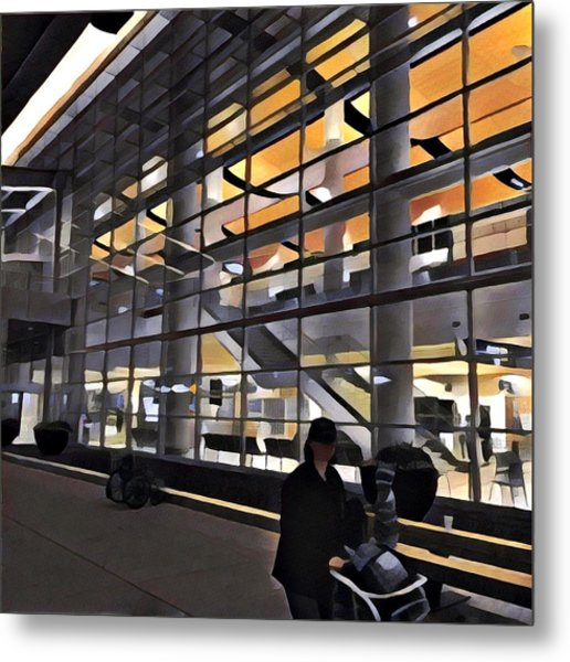 Airport 1.30am Metal Print