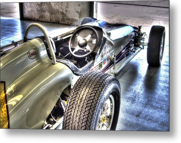 Aj Foyts Roadster Metal Print