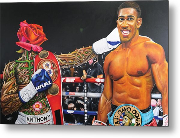 Aj Omo Oduduwa The World Champion Metal Print