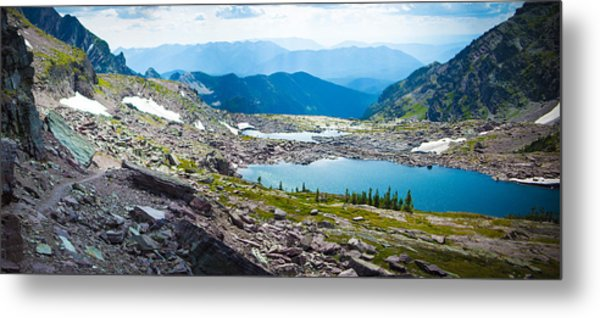 Akaiyan Lake Metal Print
