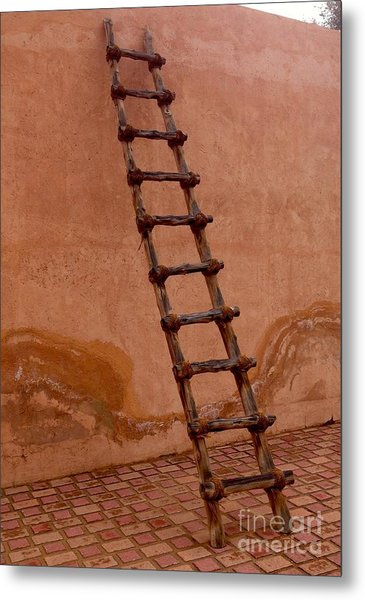 Al Ain Ladder Metal Print