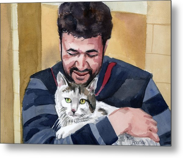 Alaa And Samson Metal Print