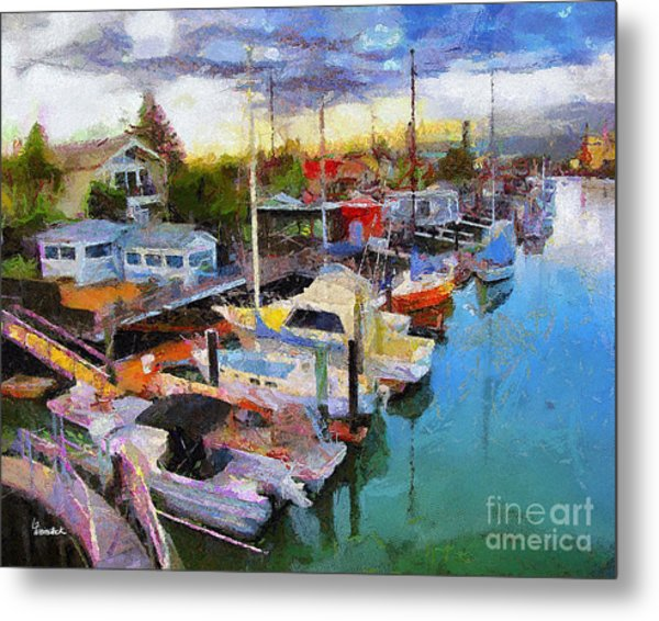 Alameda Life On The Estuary 2 Metal Print