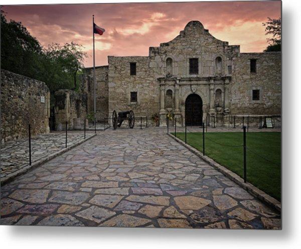Metal Print featuring the photograph Alamo by John Gilbert