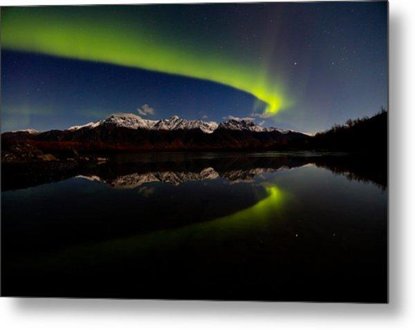 Alaska Northern Lights Metal Print by Sam Amato