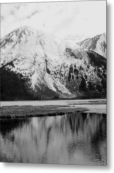 Alaska Reflection Metal Print by Ty Nichols