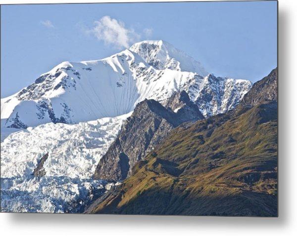 Alaskan Snowtop Metal Print by Robert Joseph