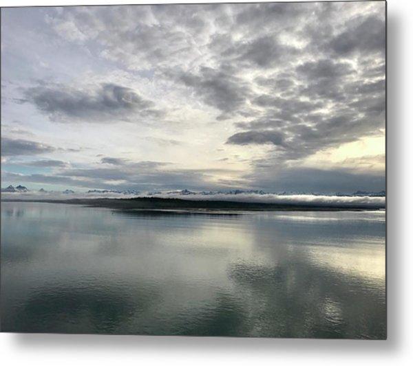 Alaskan Sunrise Metal Print