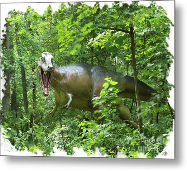 Albertosaurus Metal Print