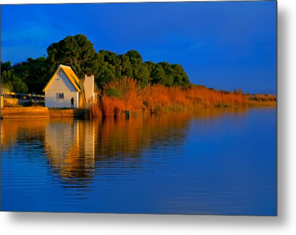 Albufera Blue. Valencia. Spain Metal Print