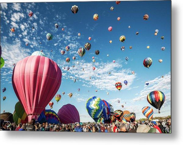 Albuquerque Balloon Fiesta Metal Print
