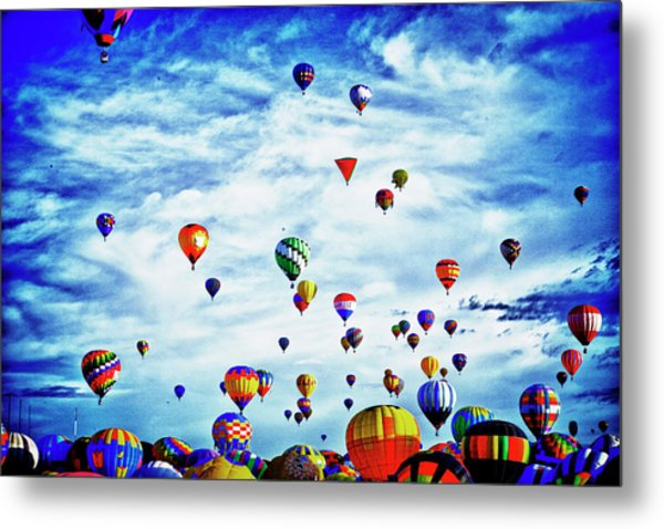 Albuquerque Blues Metal Print