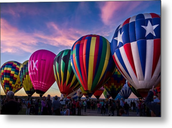 Albuquerque Hot Air Balloon Fiesta Metal Print
