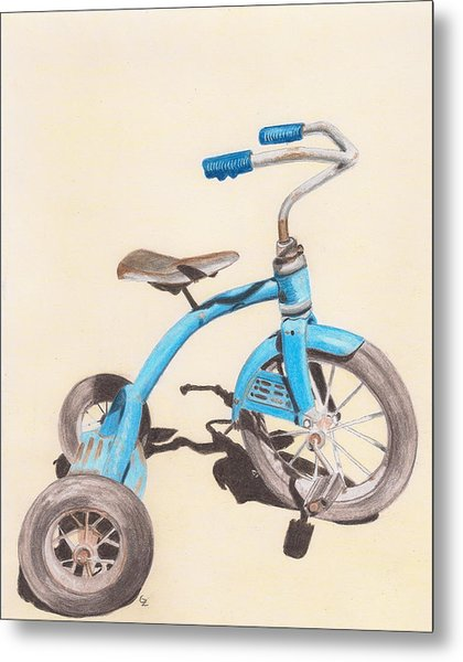 Alder's Bike Metal Print