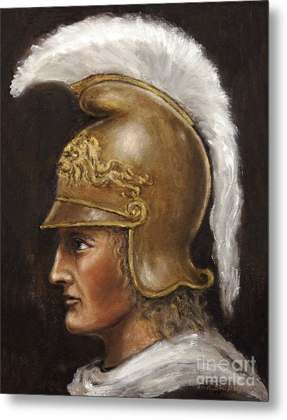 Alexander The Great Metal Print