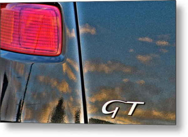 Alfa Romeo Sunset Metal Print
