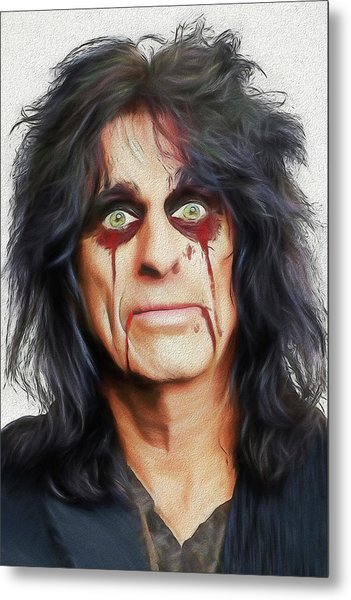 Alice Cooper Killer Metal Print