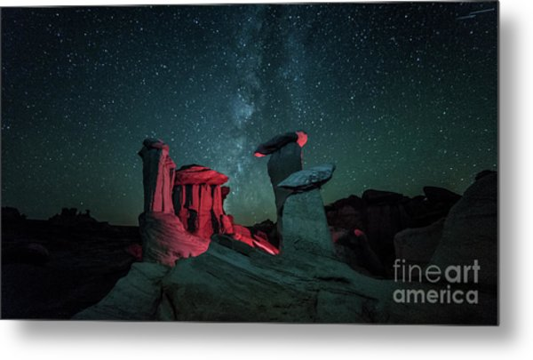 Metal Print featuring the photograph Alien Landscape by Brian Spencer