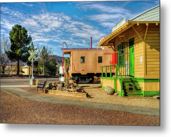 All Aboard Metal Print by Stephen Campbell