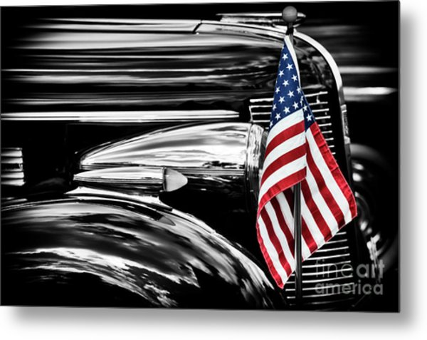 All American Buick Metal Print by Tim Gainey