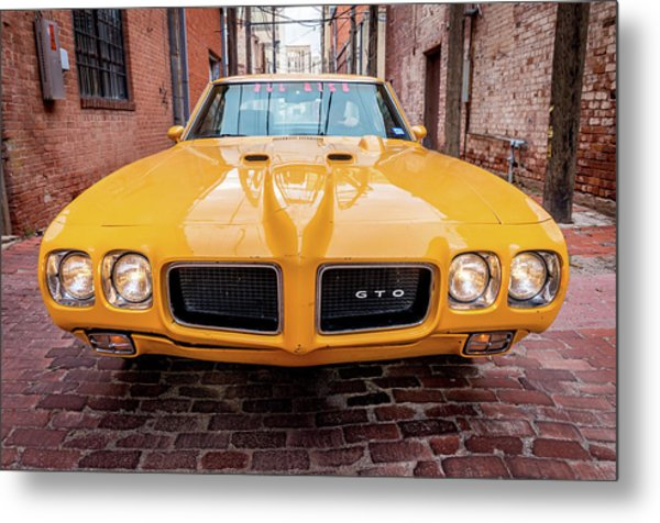 All American Muscle Metal Print