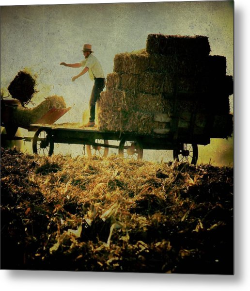 All In A Day's Work Metal Print