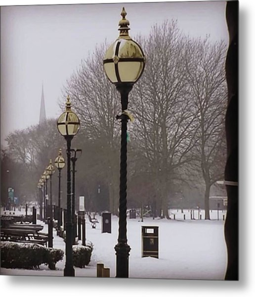 All In A Row | March 2018. #lights Metal Print
