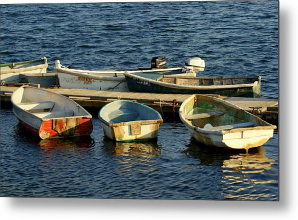 All In A Row Metal Print by Lois Lepisto
