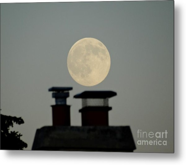 All In The Timing  Metal Print