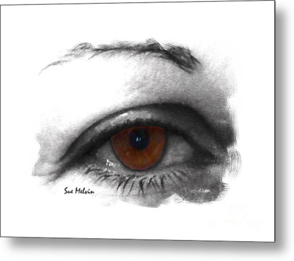 All Knowing Eye Metal Print