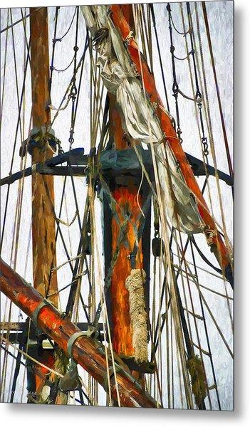 All Masts Metal Print