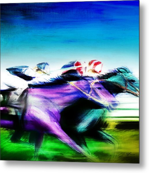 All Out 2 Metal Print