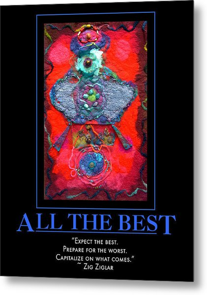 All The Best Metal Print