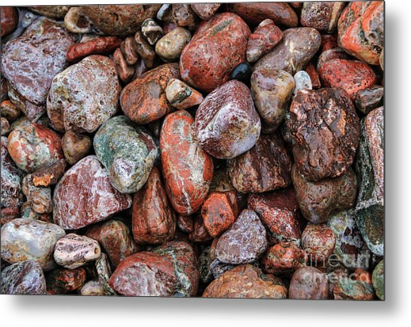 All The Stones Metal Print